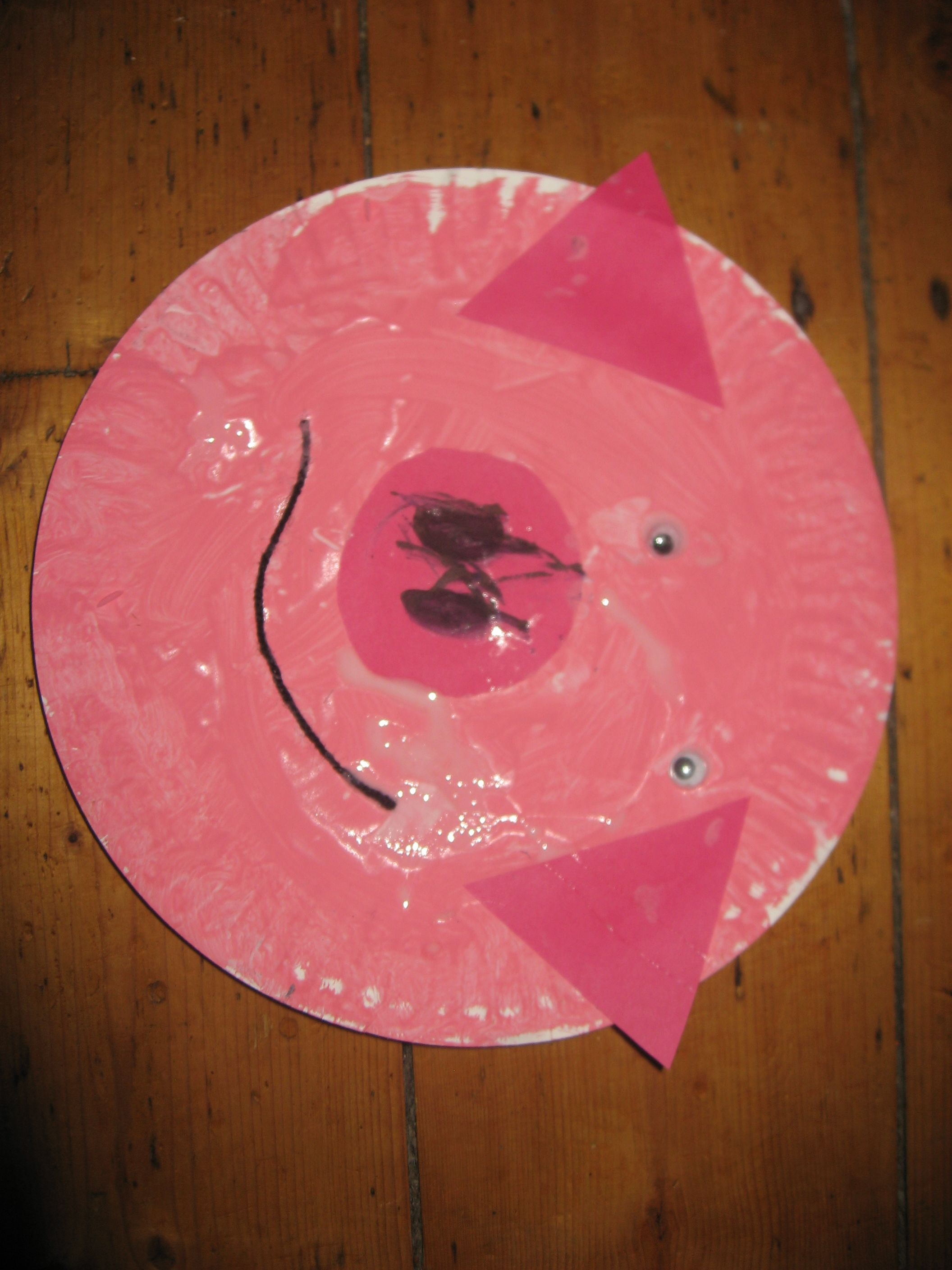 Craft Ideas For Little Kids Part - 40: Little Kid Craft Ideas | Week S Craft Session S Theme Was The Three Little  Pigs