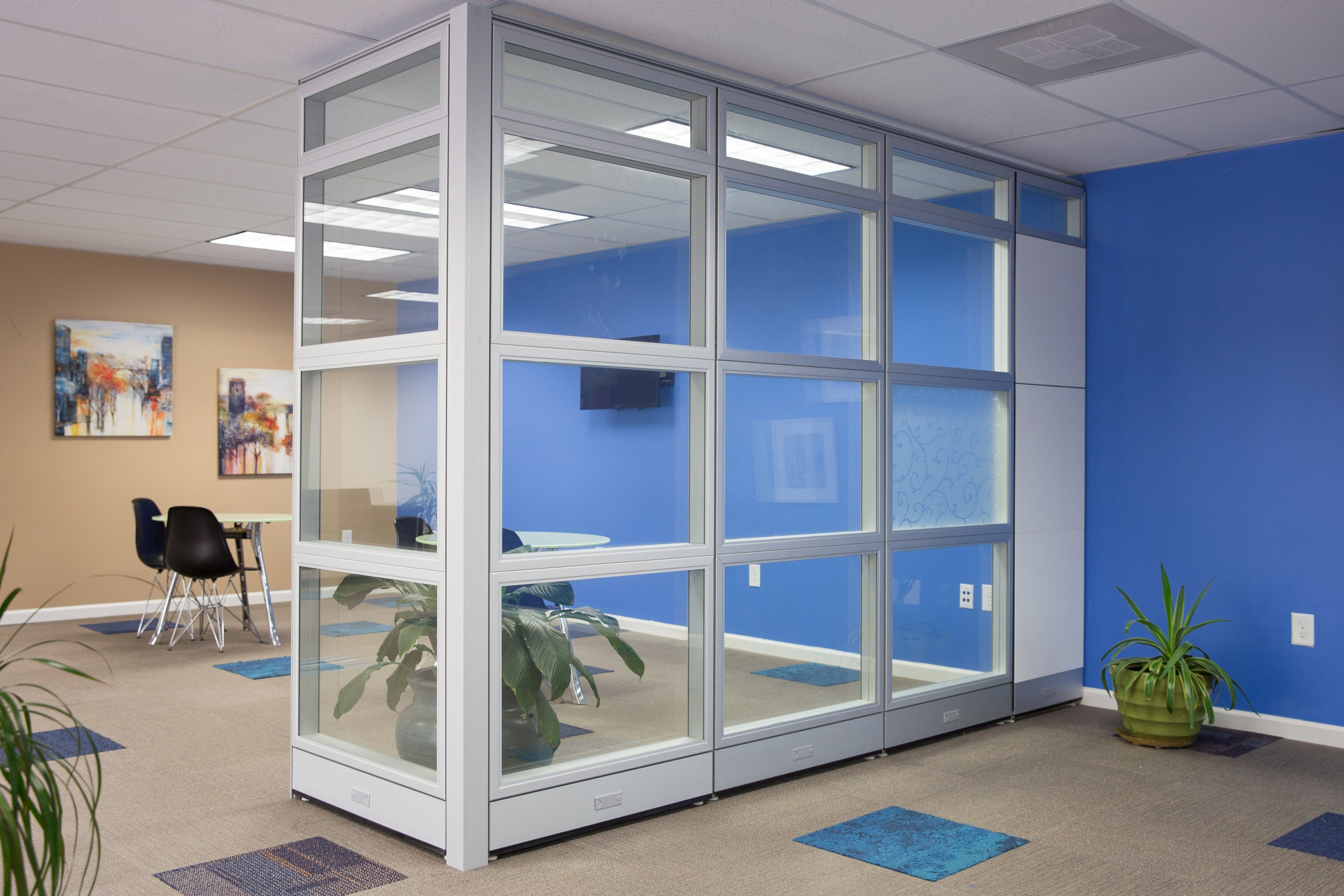 Modular Glass Room Divider Glass Office Partitions Glass Wall