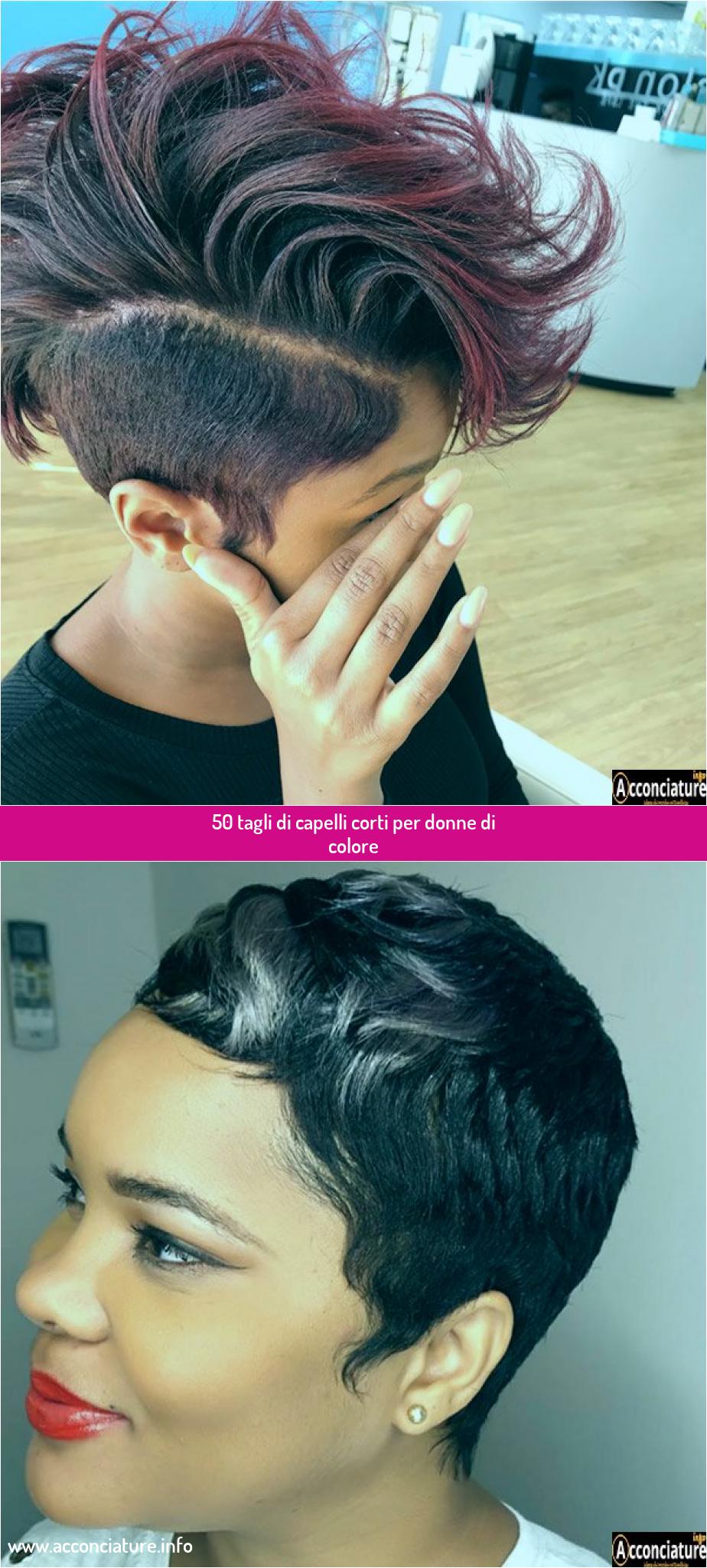50 tagli di capelli corti per donne di colore en 2020