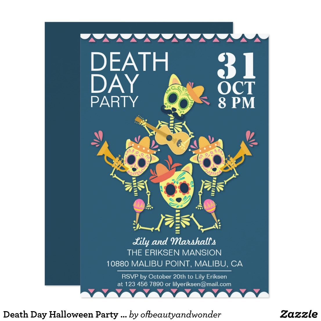 Exelent Halloween Party Invitations Ideas Pictures Invitations