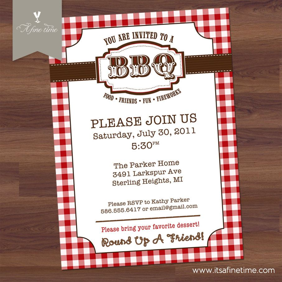 1000+ images about BBQ uitnodiging on Pinterest | Rehearsal dinner ...
