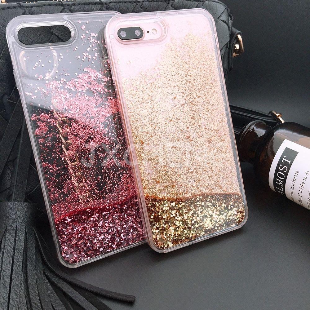 Luxury water liquid phone case for iphone 8 7 7 plus