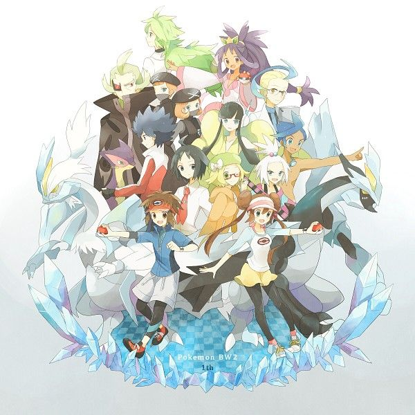 Pokemon 1530781 Zerochan Pokemon Black And White Black Pokemon Pokemon Iris