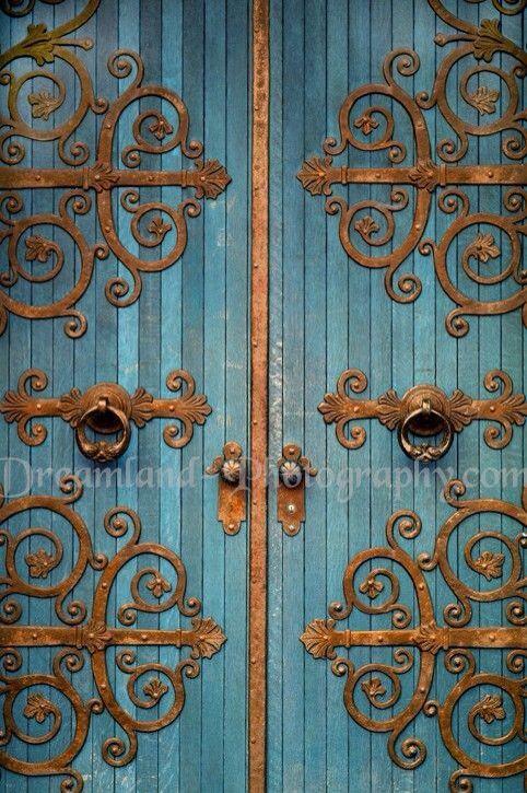Pin By Ronni Hunter On Doors And Windows Unique Doors Beautiful Doors Teal Door