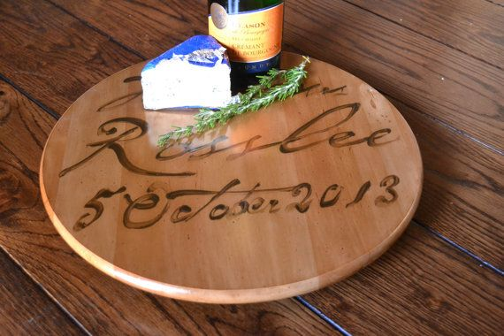 French Wedding Gifts: FRENCH CHEESE BOARD Lazy Susan UNIQUE Wedding GIFT!!!