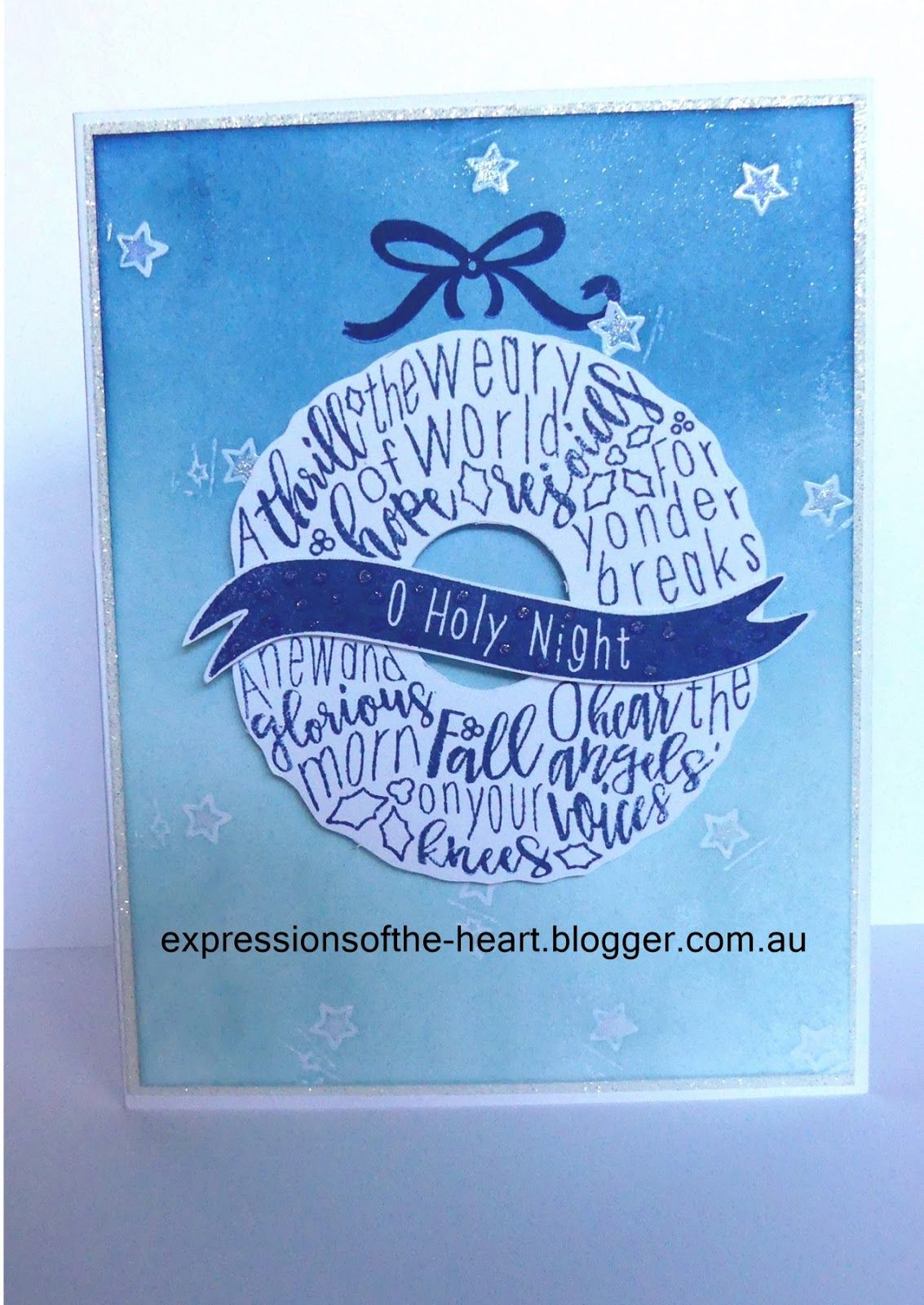 Hello And Welcome Aboard Our Christmas Tunes S1710 Exclusive Stamp