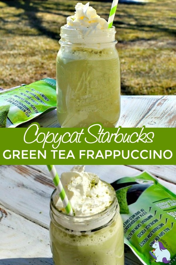 Photo of Green tea frappuccino recipe