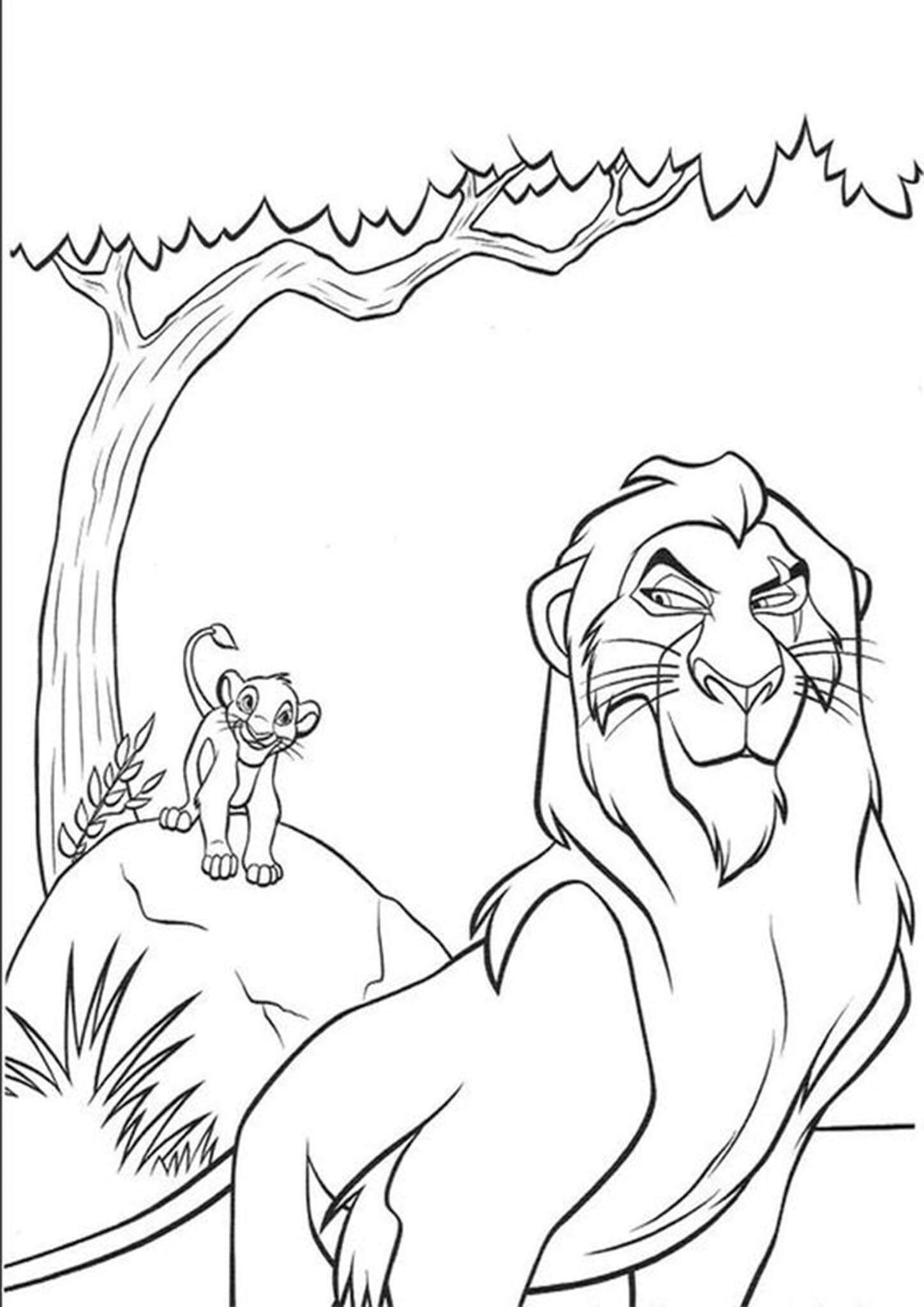 Free Easy To Print Lion King Coloring Pages Family Coloring Pages Cartoon Coloring Pages Disney Coloring Pages