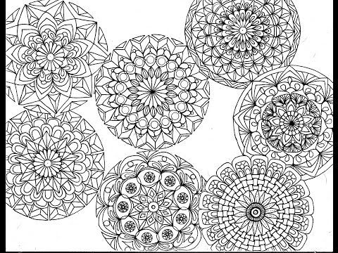 7 Little Mandalas - YouTube