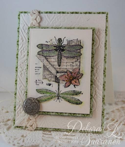 Dragonfly Dreams by DeborahLynneS - Cards and Paper Crafts at Splitcoaststampers