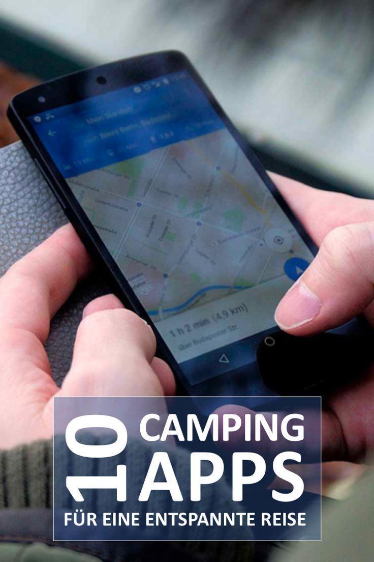 Die 10 wichtigsten Camping Apps für iPhone und Android #wohnwagen