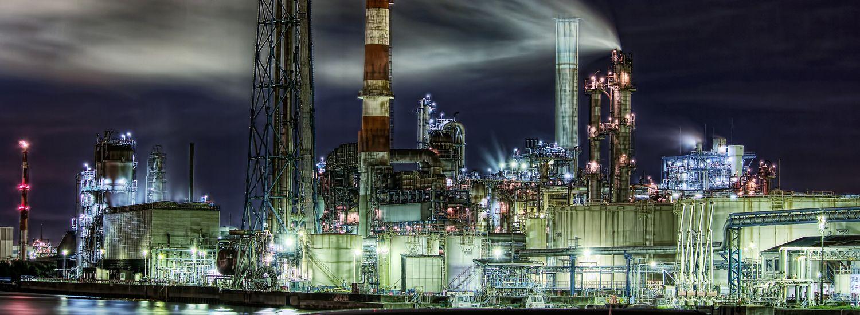 川崎工場夜景 神奈川 Kawasaki Factory Night View Kanagawa Japan