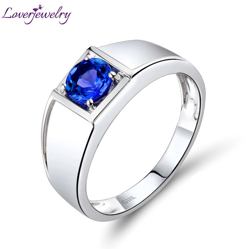shipping solid for free and men w white buy mens tanzanite gold oval aliexpress ring com on wholesale get natural