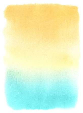 Summer Watercolor Background : summer, watercolor, background, Abstract, Watercolor, Orange, Turquoise, Gradient, Background..., Pastel, Background, Wallpapers,, Background,