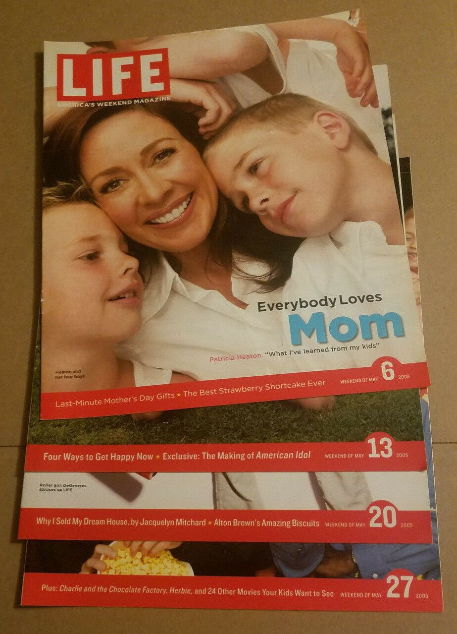 Details about Magazines Life Magazine May 6 13 20 27 2005