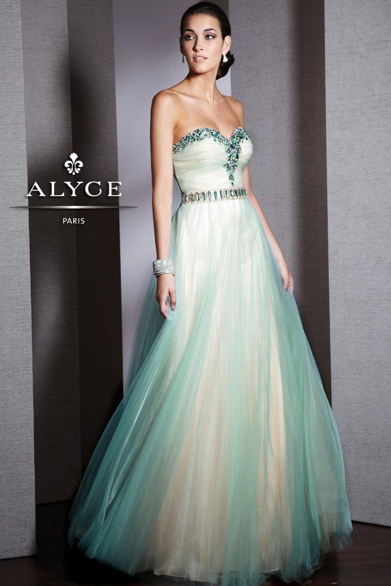 Find alyce paris black strapless beaded prom dresses available