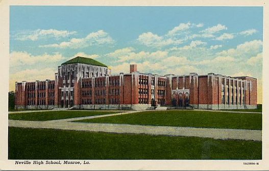 Neville High School in Monroe, Louisiana established in 1931 is now on the  National Register