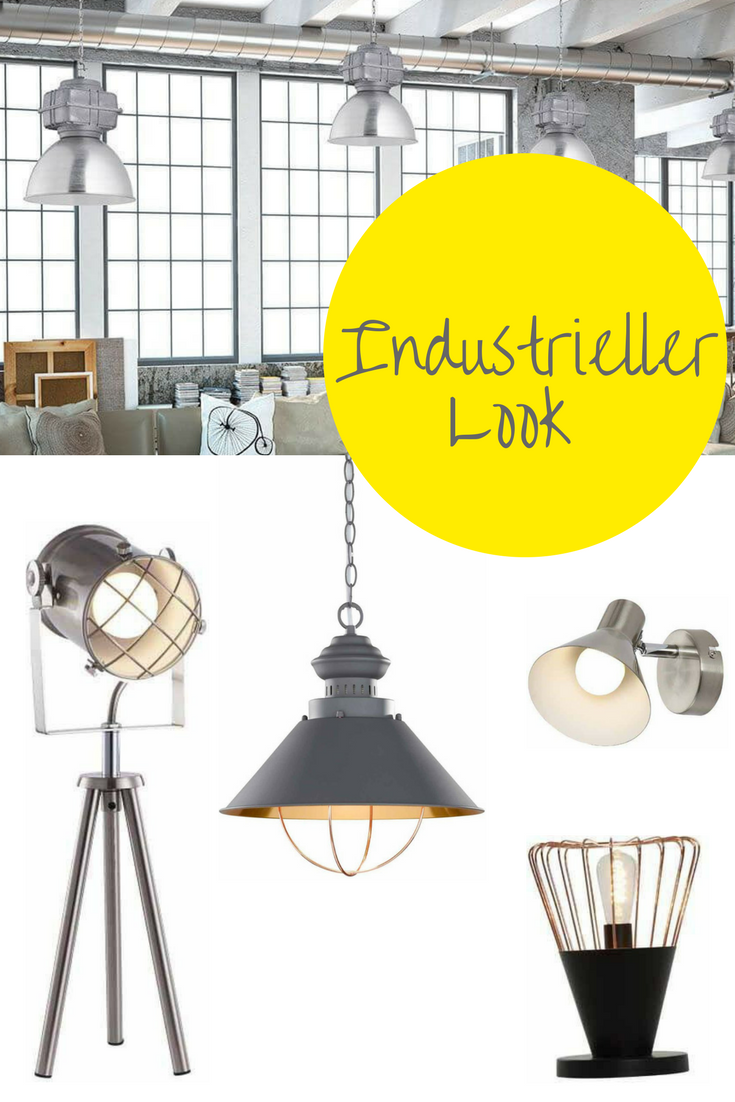 Vintage wohnideen rauer charme mit lampen u deko im industriellen look hol dir jetzt