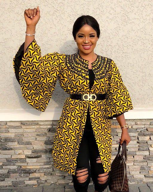 Since I Love The Kimono Style Dresses I Ve Seen On: Latest Ankara Kimono Styles 2018 : The Most Recent African