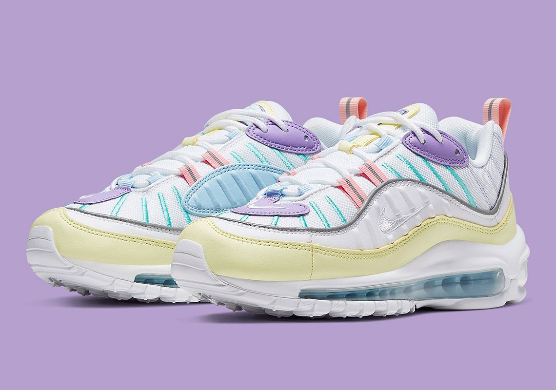 Nike Air Max 98 Easter AH6799 300 Release Info | shoes