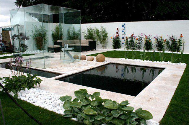 Aménagement jardin moderne – 55 designs ultra inspirants   Rear ...