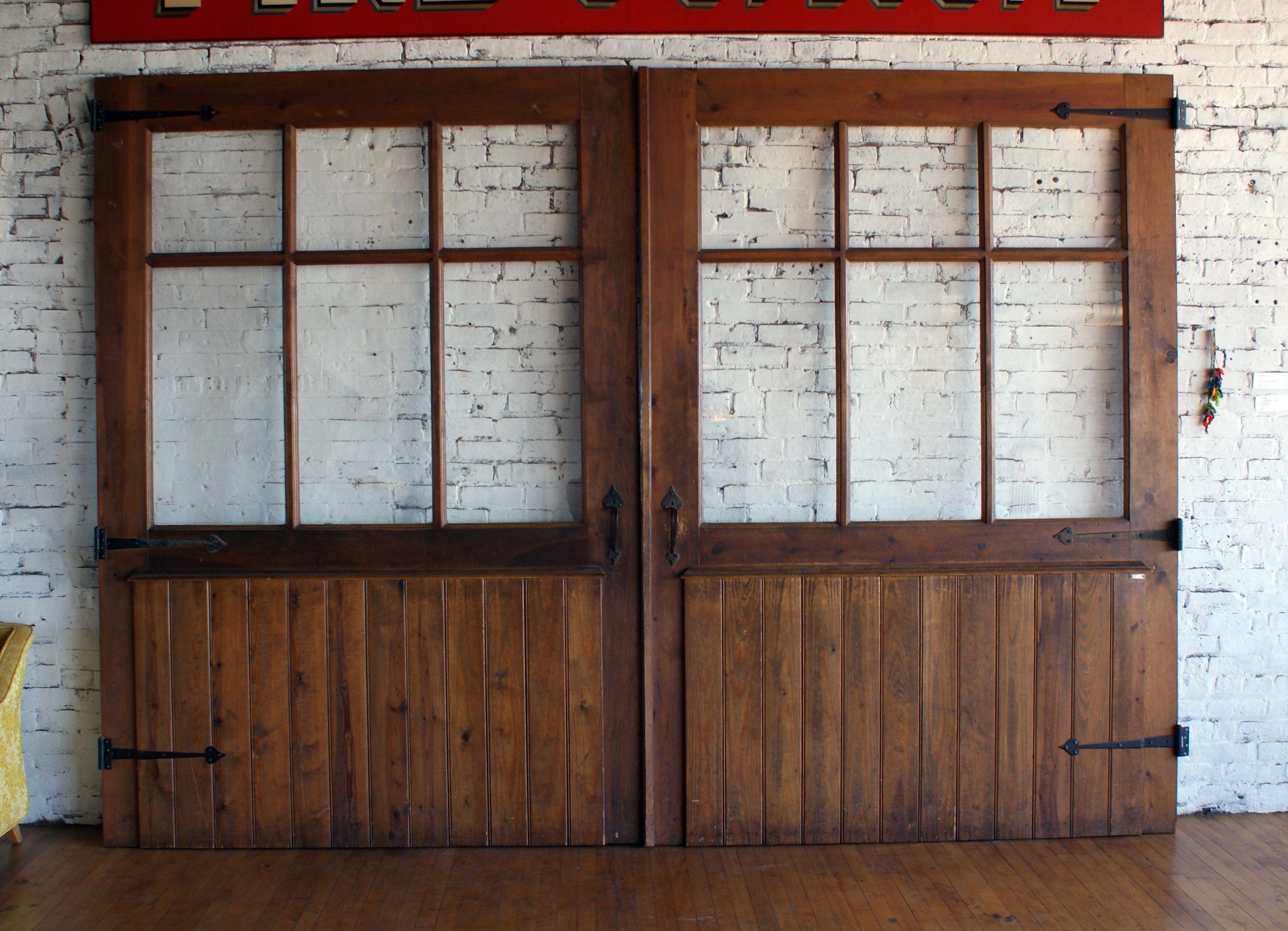 Fire House Exhibit Garage Door Pair From Msi Chicago House Fire Garage Doors Doors