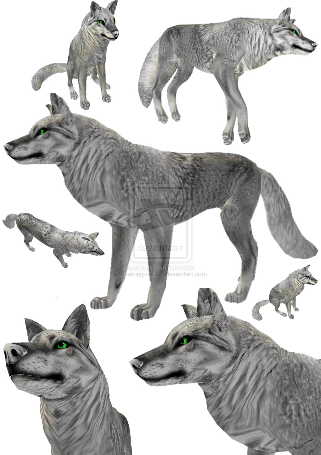 FeralHeart Fur Texture for Canines by RainOfBl00d ...