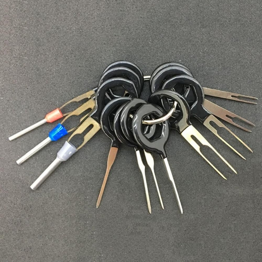 pin repair tool set auto car plug pick back needle wire harness rh pinterest com Wiring Harness Terminals and Connectors Wiring Harness Terminals and Connectors