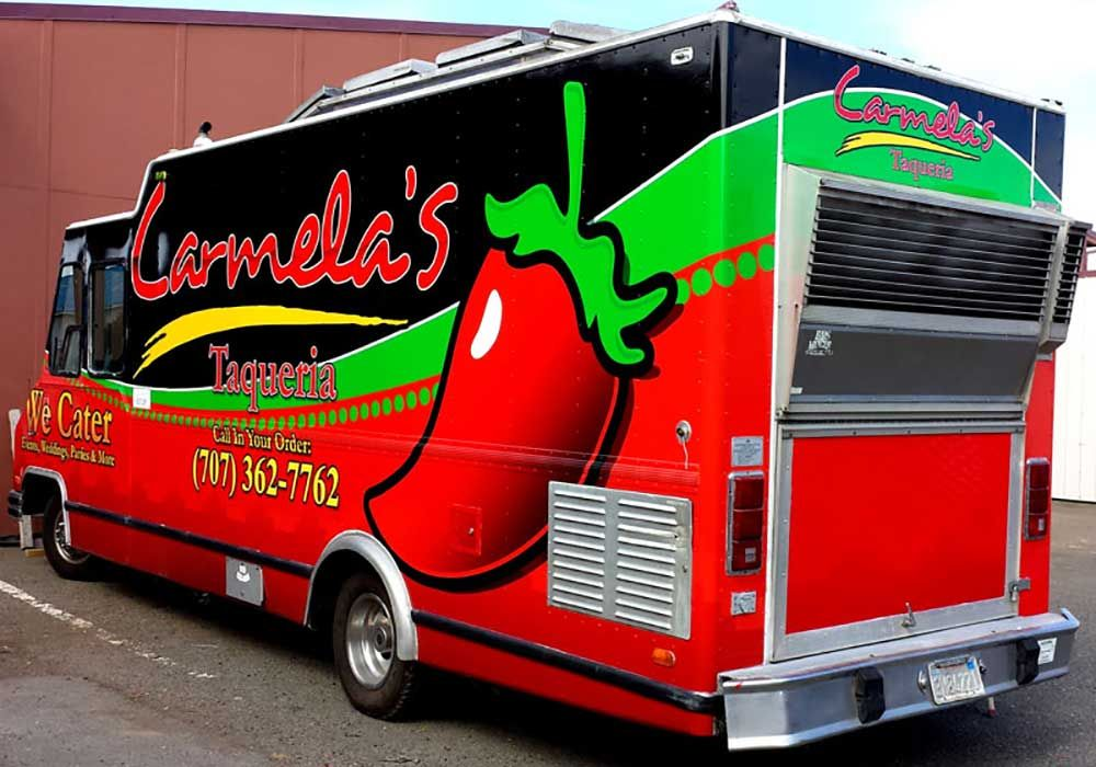 Food Truck Vehicle Wraps Food Truck Wraps Pinterest