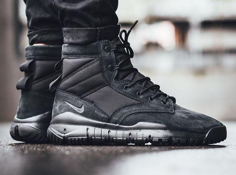 6 Nsw Leather Sfb Wear 2Men's Black Nike Triple E2WDH9YI