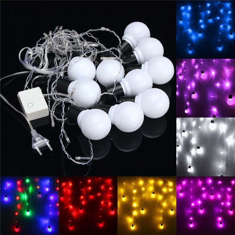 15m 10 ball bulb led fairy string light wedding party christmas lamp xmas decor