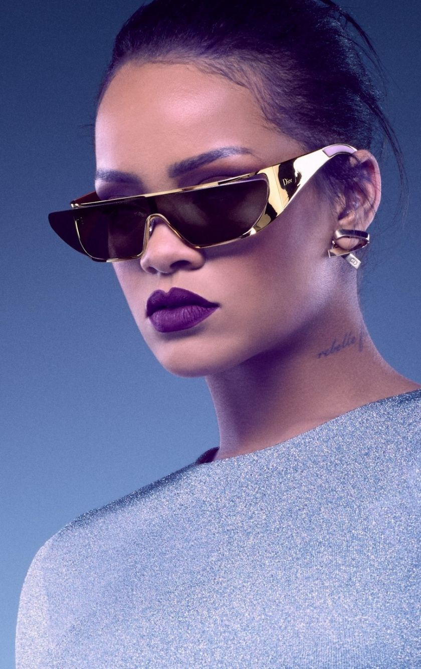 Rihanna Sunglasses Photoshoot 840x1336 Wallpaper Rihanna Sunglasses Sunglasses Rihanna