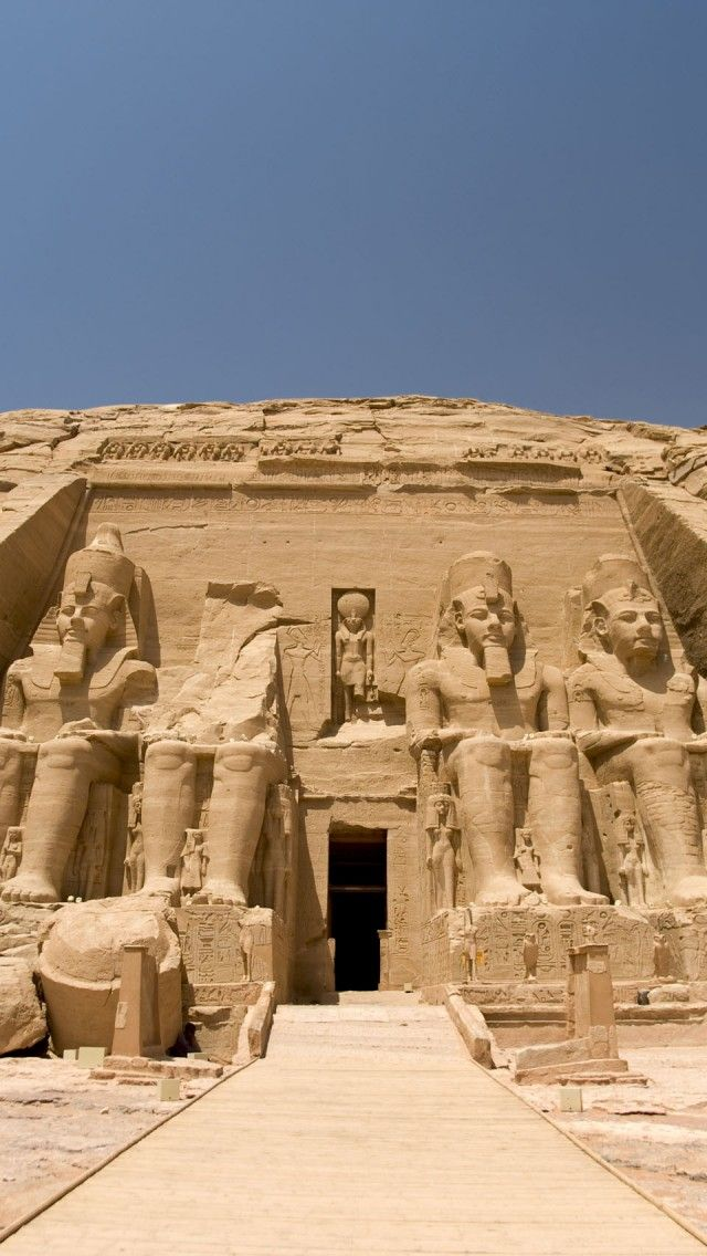 Abu Simbel, Egypt iPhone 5 wallpapers, backgrounds, 640 x 1136 - fresh world map iphone 5 background