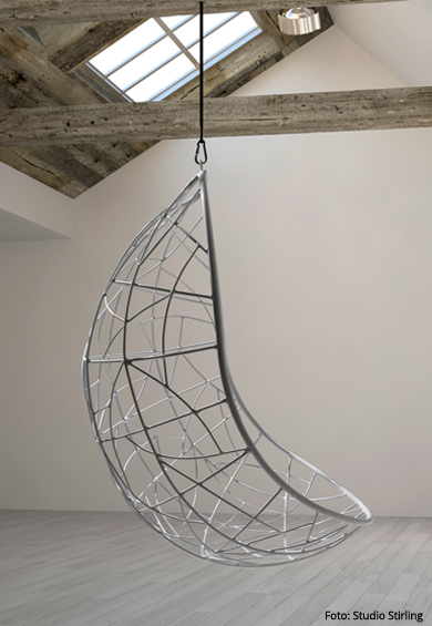 VOGELFREI // Hängesessel NEST EGG von Studio Stirling // Designtanke ...