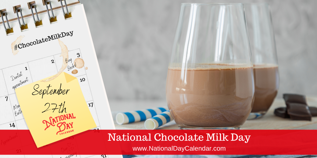Chocolatemilkday It S For The Children Wink Wink In 2020 Chocolate Milk Day Chocolate