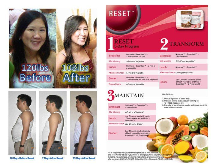 Living lean 15 day weight loss program