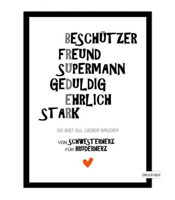 Fantastische Inspiration Geschenk 18 Geburtstag Bruder Und ...