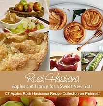 CT Apples | RecipesLooking for recipes just for Rosh Hashanah? We've collected some especially for the High Holidays. www.pinterest.com/ctapples/rosh-hashanah
