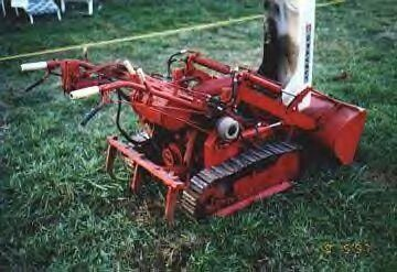Gravely Model L Converted To A Crawler Cool Tractors
