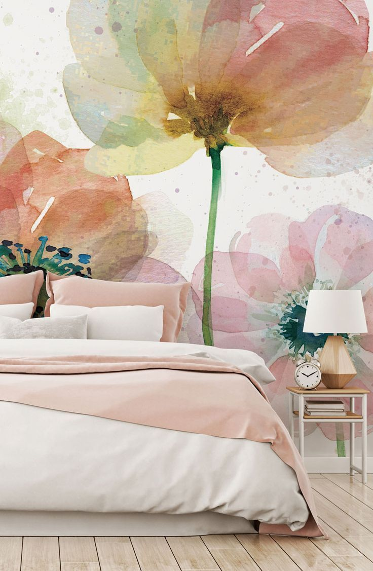 Best Summer Fields In 2020 Feature Wall Bedroom Wall Wallpaper Wall Murals 640 x 480