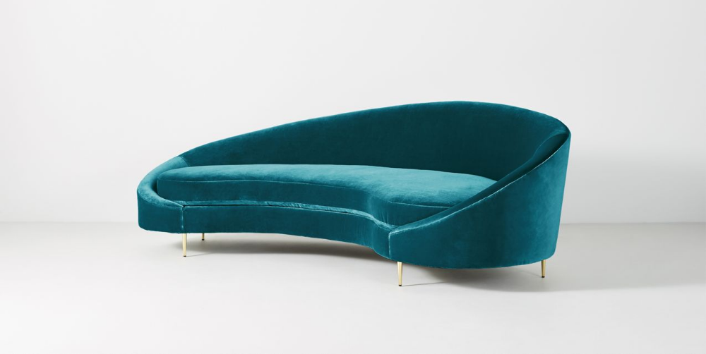 Asymmetrical Serpentine Sofa Couch Furniture Hanging Furniture Furniture Delivery
