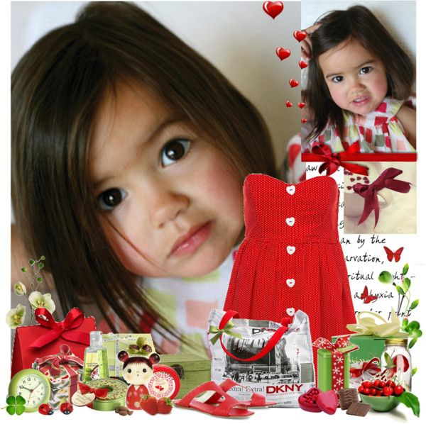 Love… through the eyes of a child, created by larisalovely on Polyvore