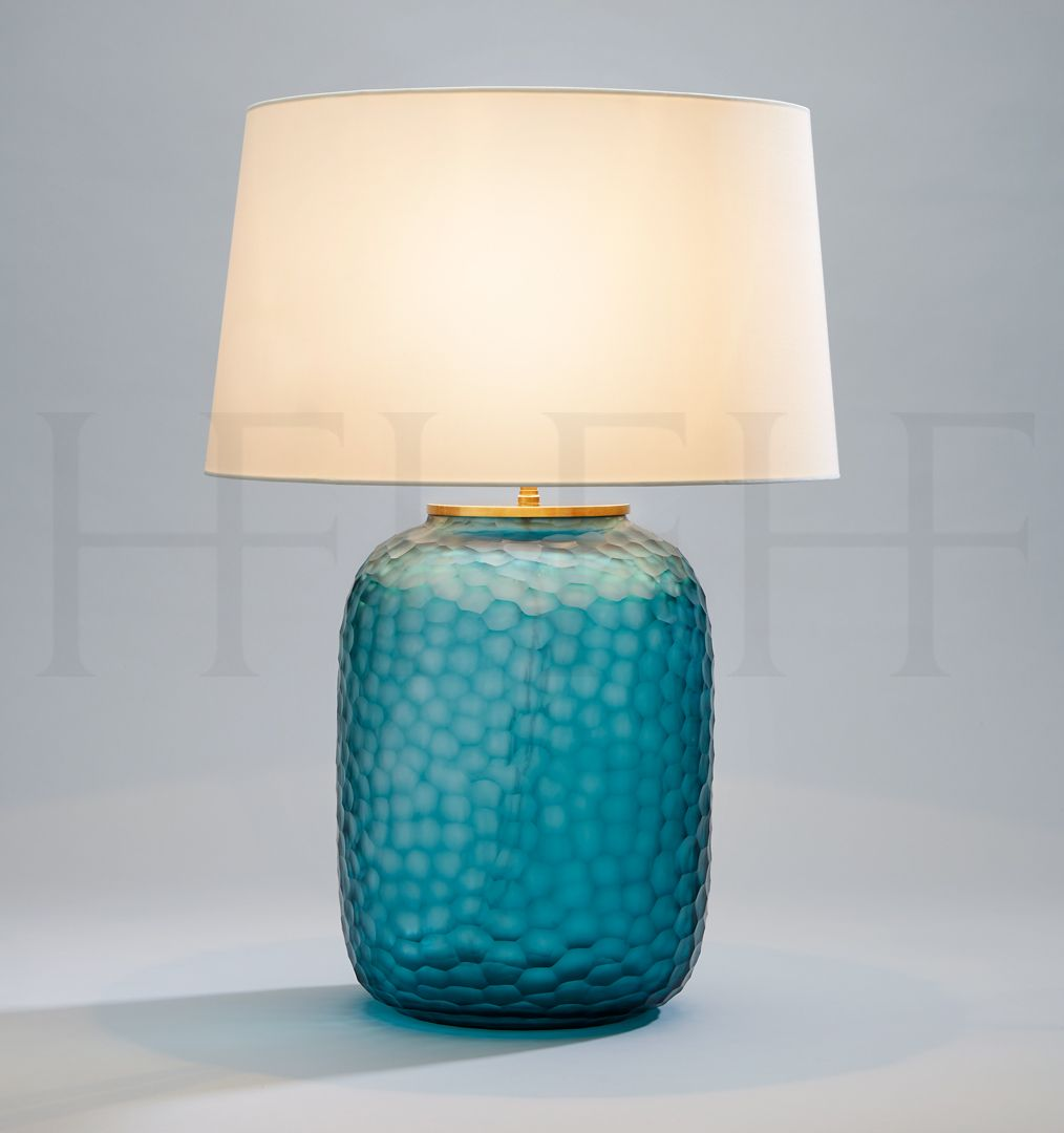 lamp table chamotte for turquoise ceramic nylund by gunnar rorstrand