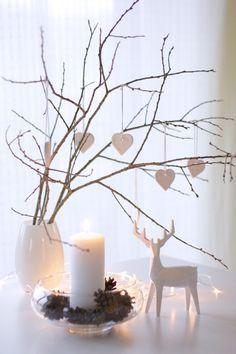Wunderbar Ideen · Weihnachtsdeko In Weiß   Baumschmuck ...