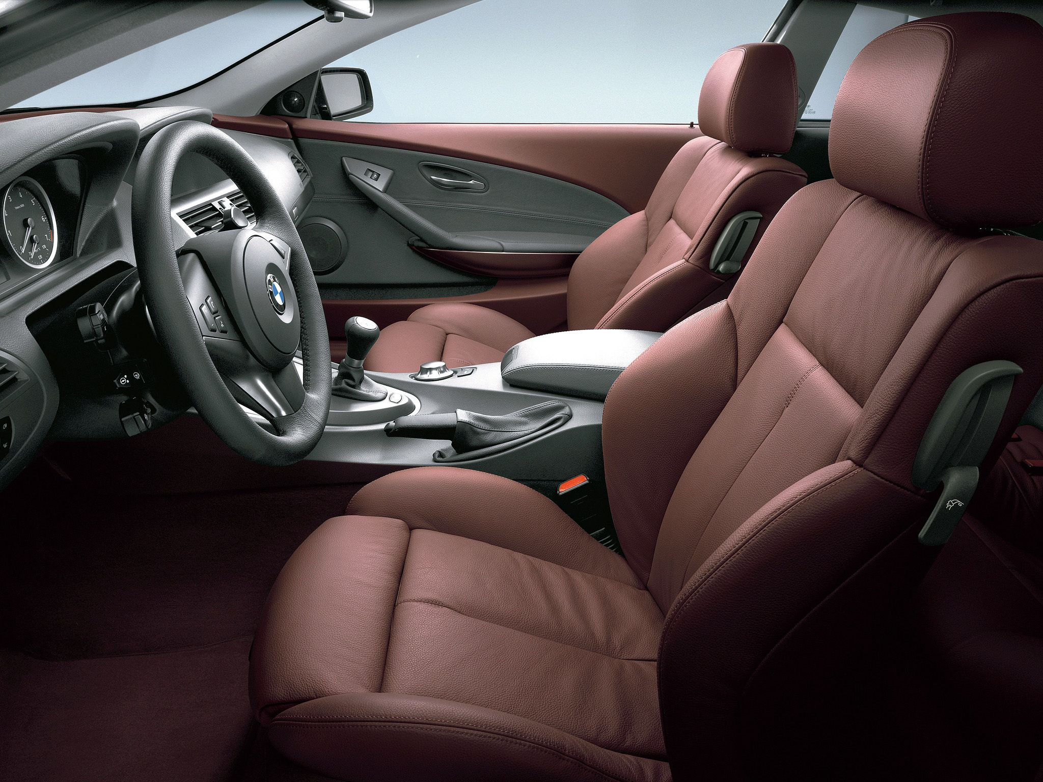 E63 bmw 6 series interior