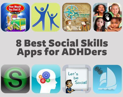 Could better social skills for your ADHDer be a tap and slide away? Check out these apps designed to help kids navigate the social scene.