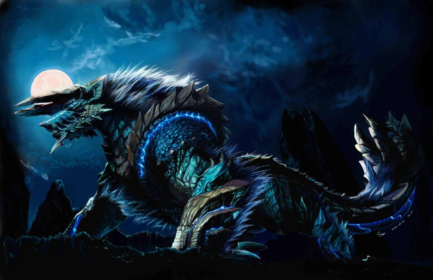 123 Monster Hunter HD Wallpapers
