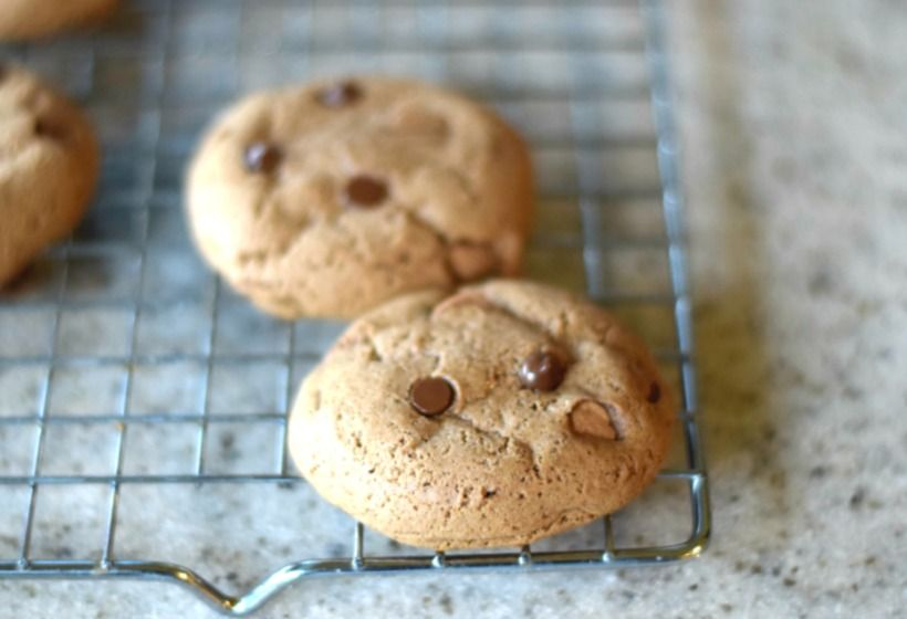 The Easiest Gluten-Free Chocolate Chip Cookies (Only 3 Ingredients!)