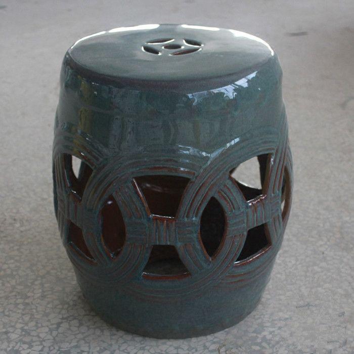 Antique Jingdezhen Porcelain Chinese Garden Stools Ceramic