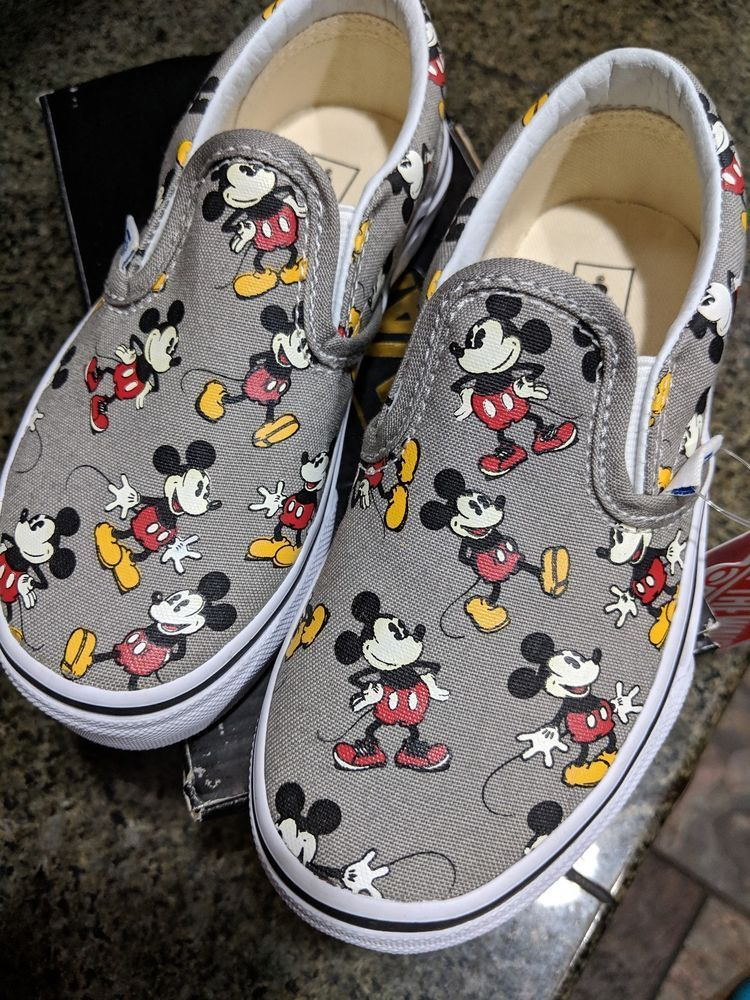 Mickey mouse vans, Vans toddler, Baby shoes